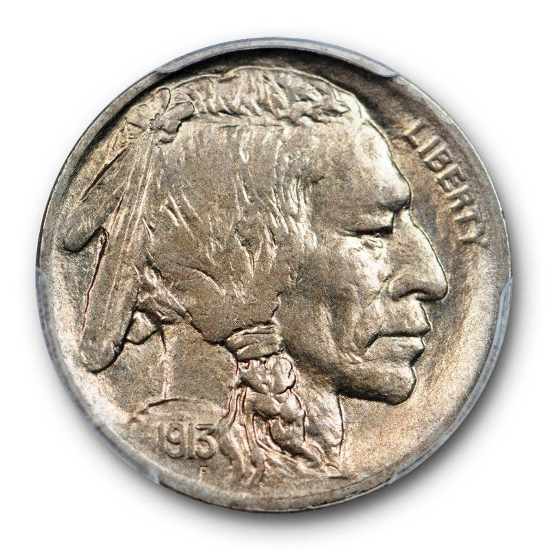 1913-S Buffalo Nickel Graded PCGS MS63