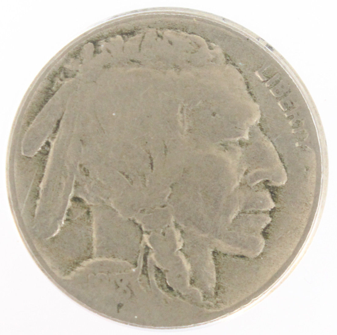 1918/7 Buffalo Nickel Graded PCGS VG10