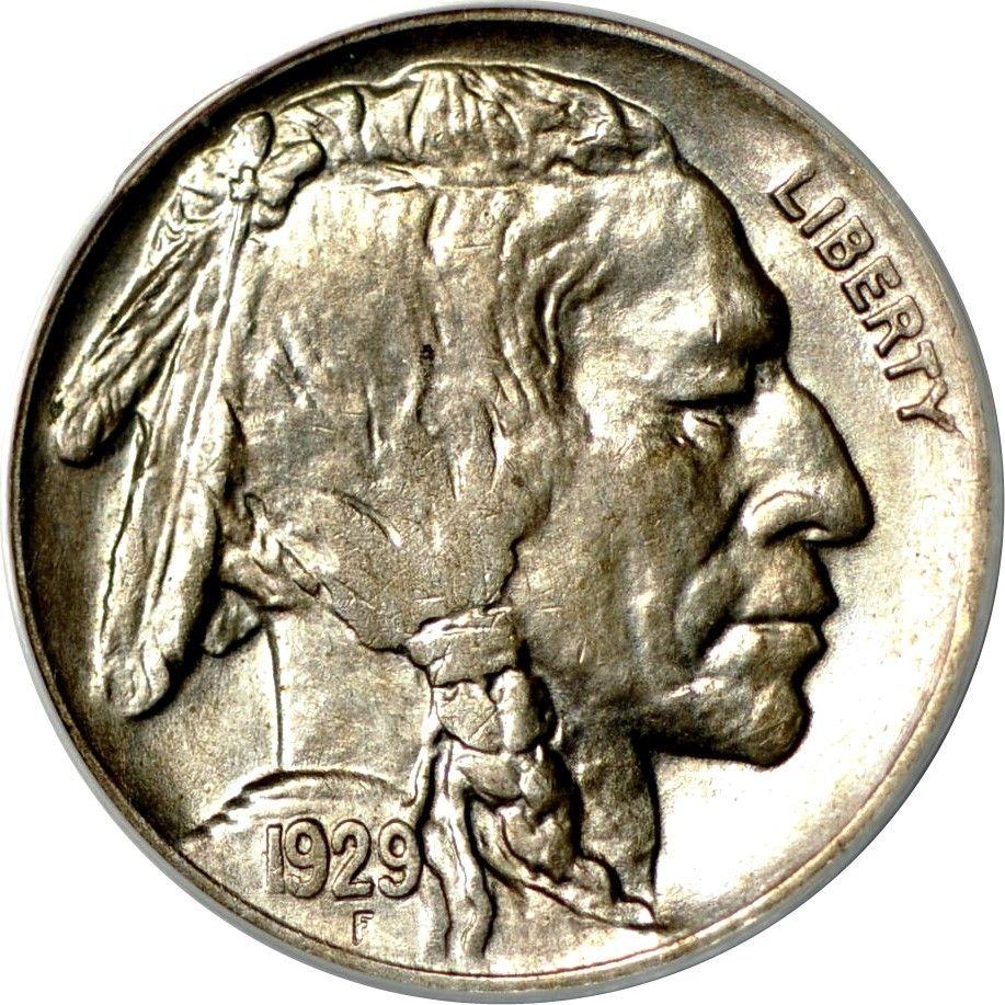 1929-D Buffalo Nickel Graded PCGS MS62