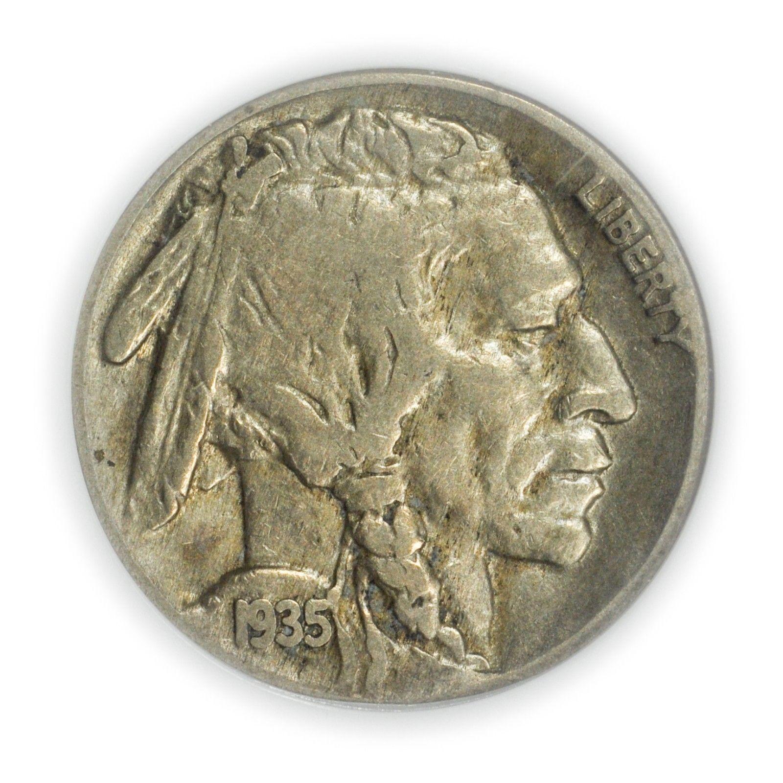 1935 Buffalo Nickel Graded PCGS F12