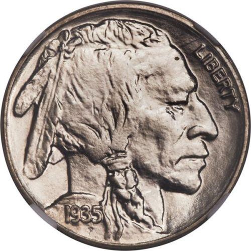 1935 Buffalo Nickel Graded NGC MS68