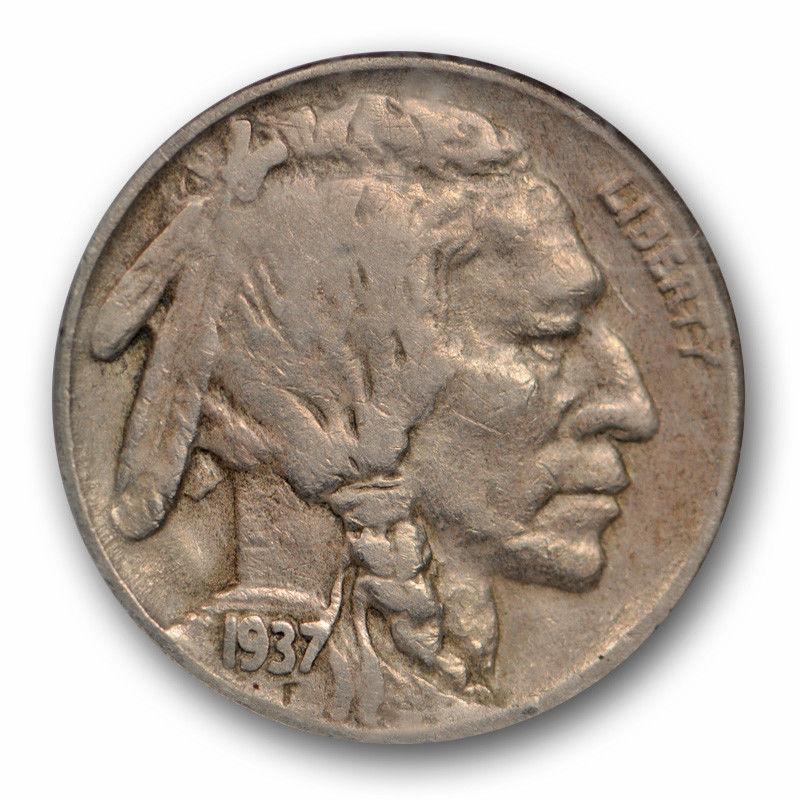 1937-D Buffalo Nickel Graded PCGS VF25