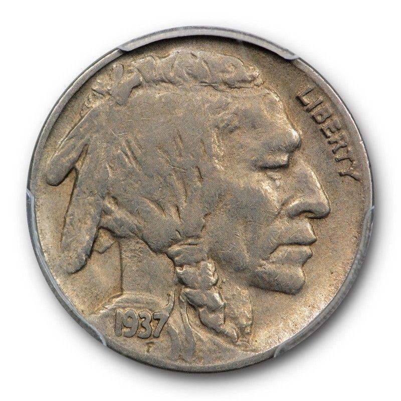1937-D Buffalo Nickel Graded PCGS VF30