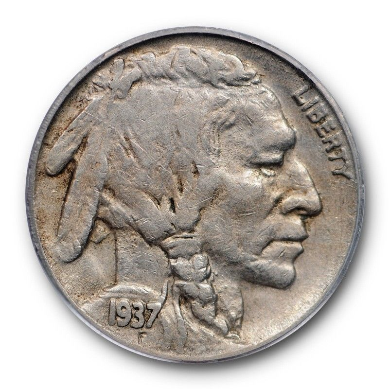 1937-D Buffalo Nickel Graded PCGS XF40